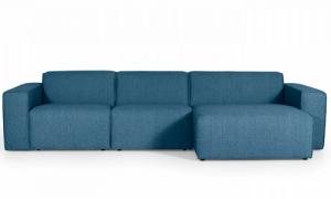 Manhatten 3 personers chaiselong sofa
