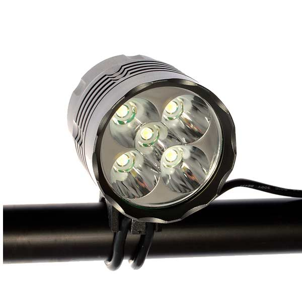 Booster X5 – Fastmount XL-Batteri, 5000 lm LED cykellygte | cykellygte