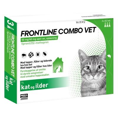 Frontline Combo Kat 3 x 0.5ml