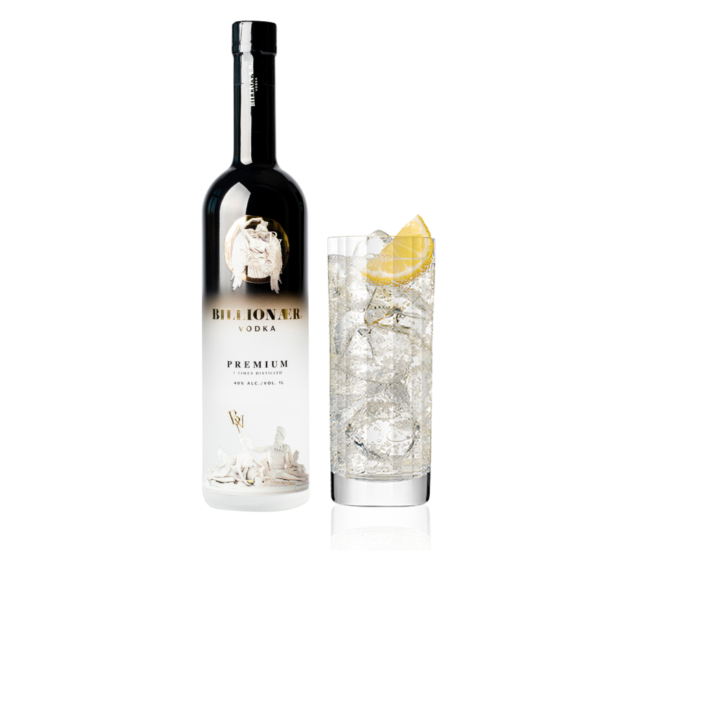 Billionær Vodka ice grape