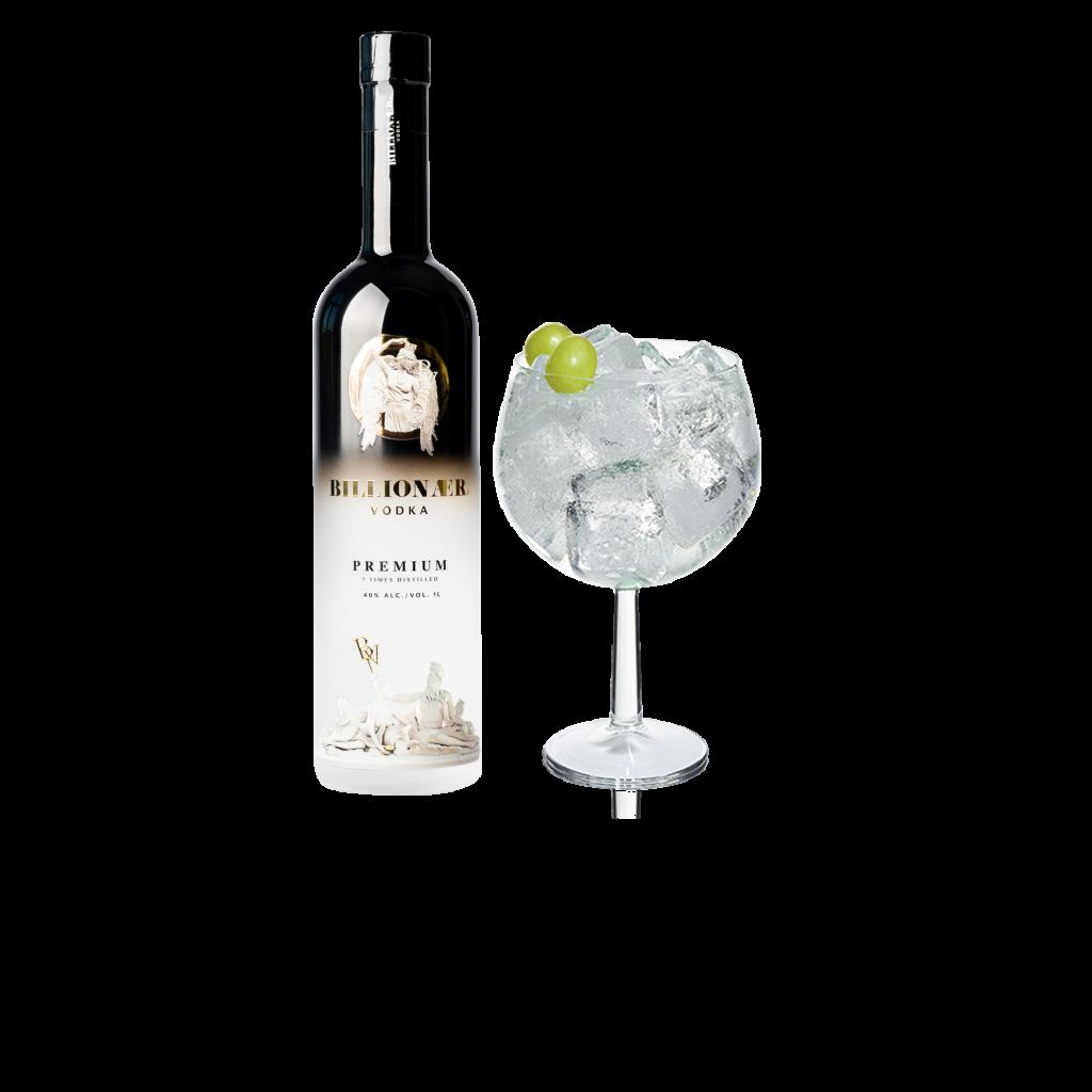 Billionær Vodka tonic
