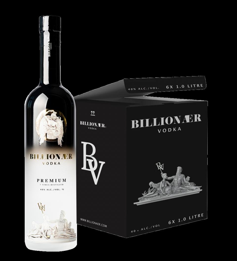 Billionær Vodka - Carton