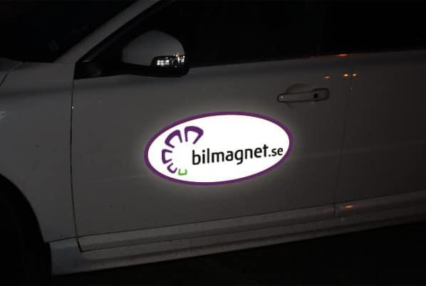 Magnetskyltar till bilen