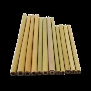 Bamboo Straws (3sizes,25pcs/bag)