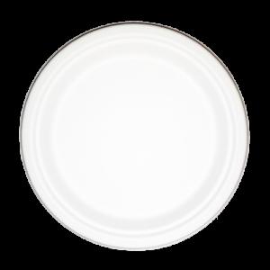 Sugarcane Plate Round 23cm (9″)