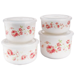 CPLA Bowls with PP Lids(Print&Color Can Be Customized)