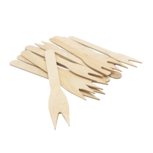 Wooden French Fry Forks 8.5cm,12cm