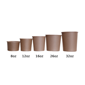 BIO Kraft Soup Cup 32oz 960ml