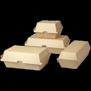 Corrugated Cardboard Burger Boxes