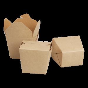 BIO Kraft Takeaway Boxes