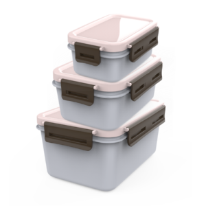 CPLA Food Container with CPLA Lids(3 Sizes)