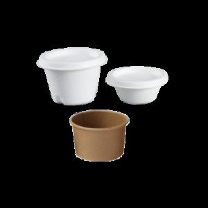 BIO Sauce Cups and Lids