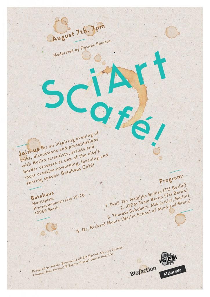 SciArt Cafe Flyer-B