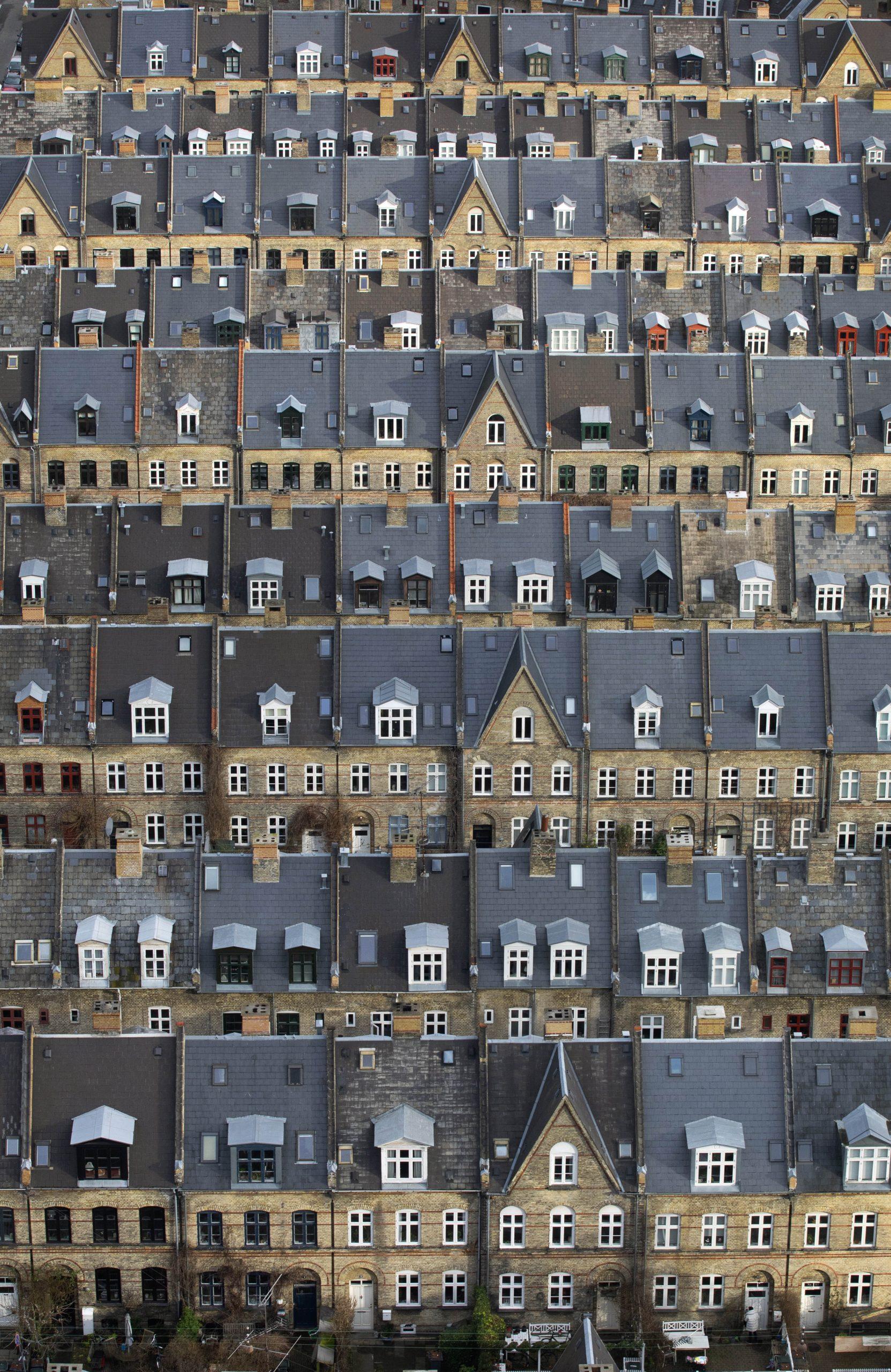 Townhouses Vesterbro Copenhagen