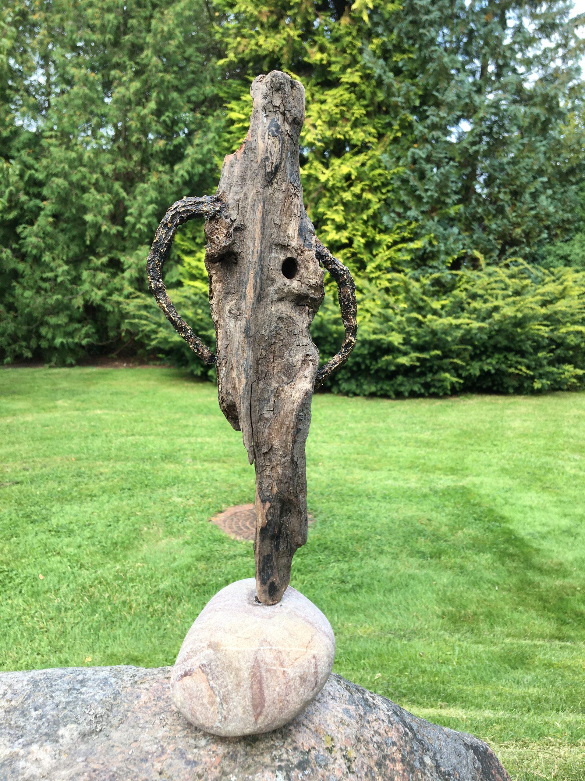 Fiberbeton, sten og træ