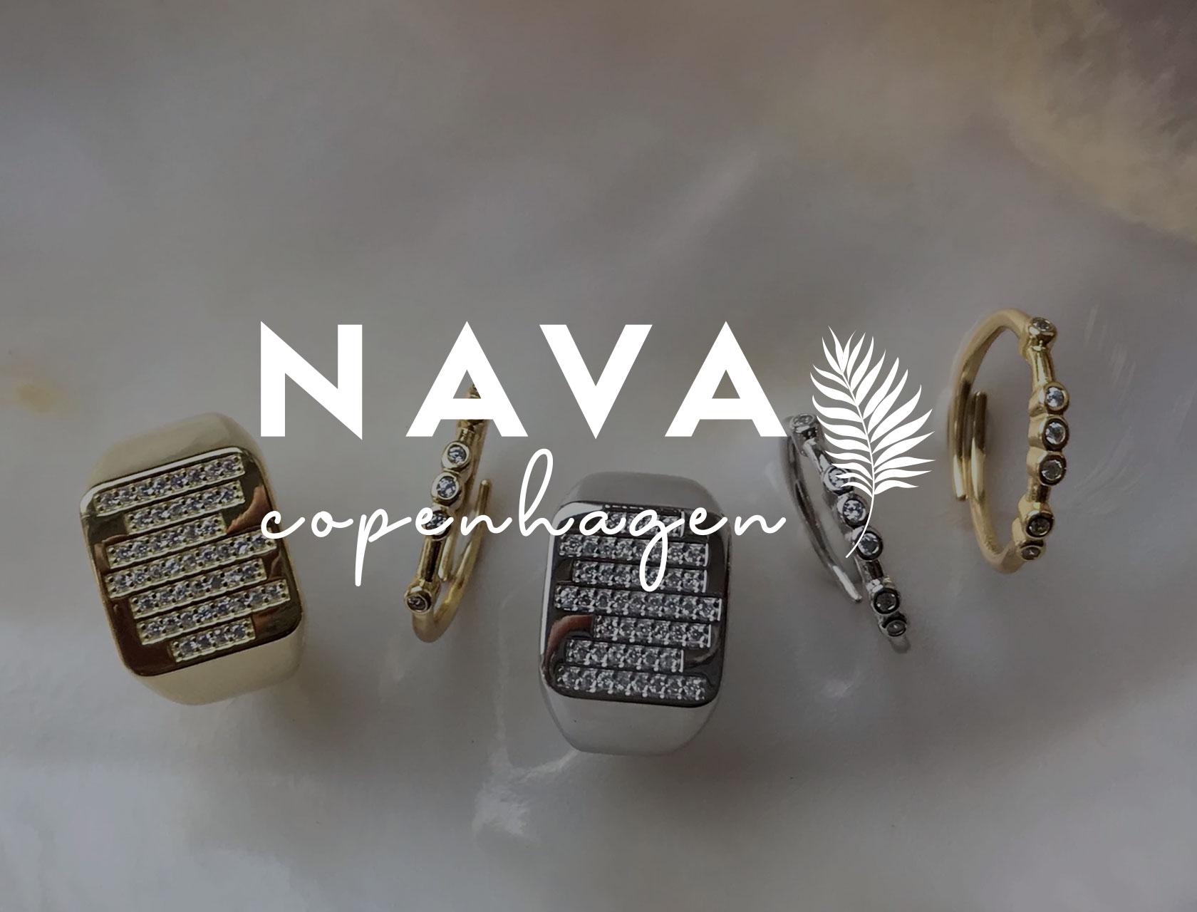 Nava Copenhagen smykker nyt logo