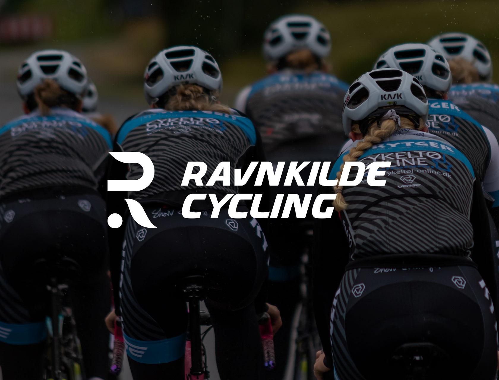 Ravnkilde Cycling nyt logo samt SoMe materiale