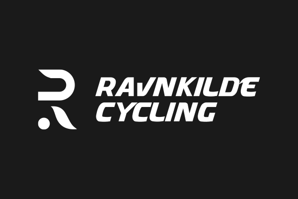 Ravnkilde cycling logo kontrast