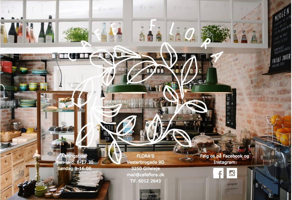 Cafe Flora Gilleleje