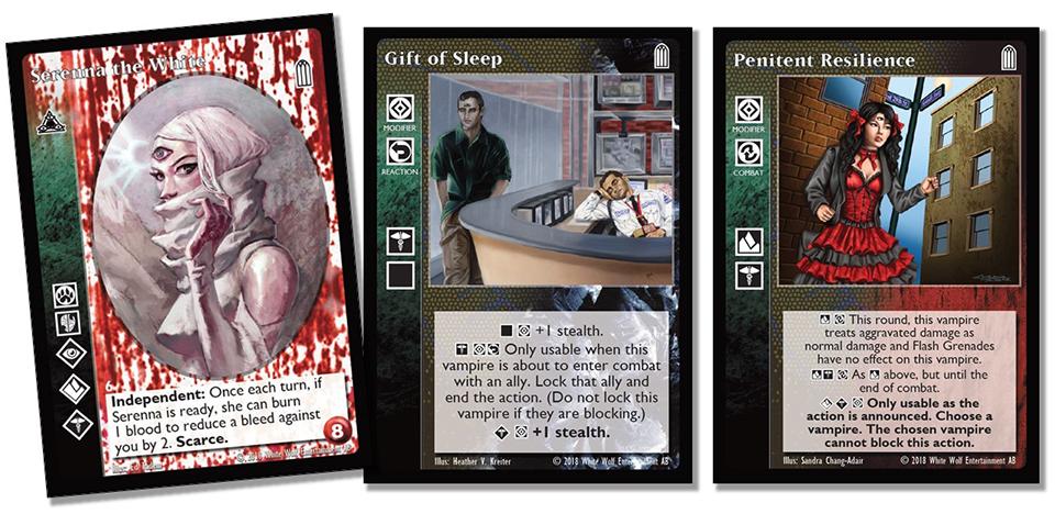 Card previews