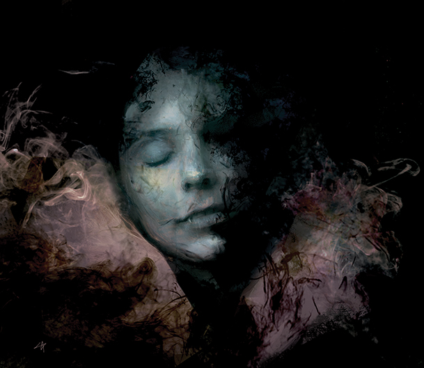 Faceless Night by Samuel Araya.