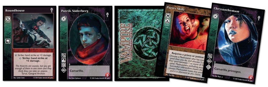 Vampire: The Eternal Struggle cards 02