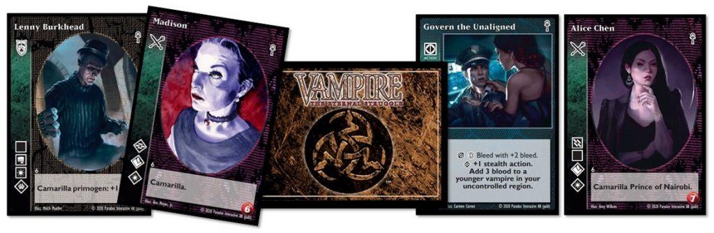 Vampire: The Eternal Struggle cards 03