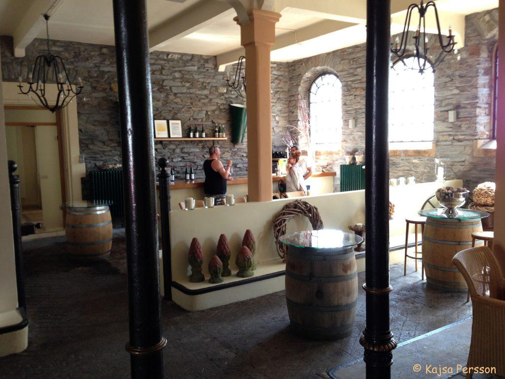 Vinprovning hos Schloss Lieser