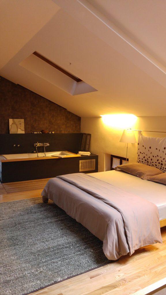 Rummet på Hisa Franco