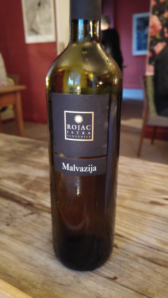 Malvazija vin från Rojac
