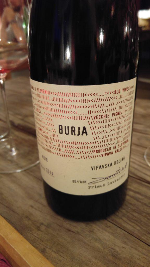 Modri Noir från Burja Winery i Vipava Valley