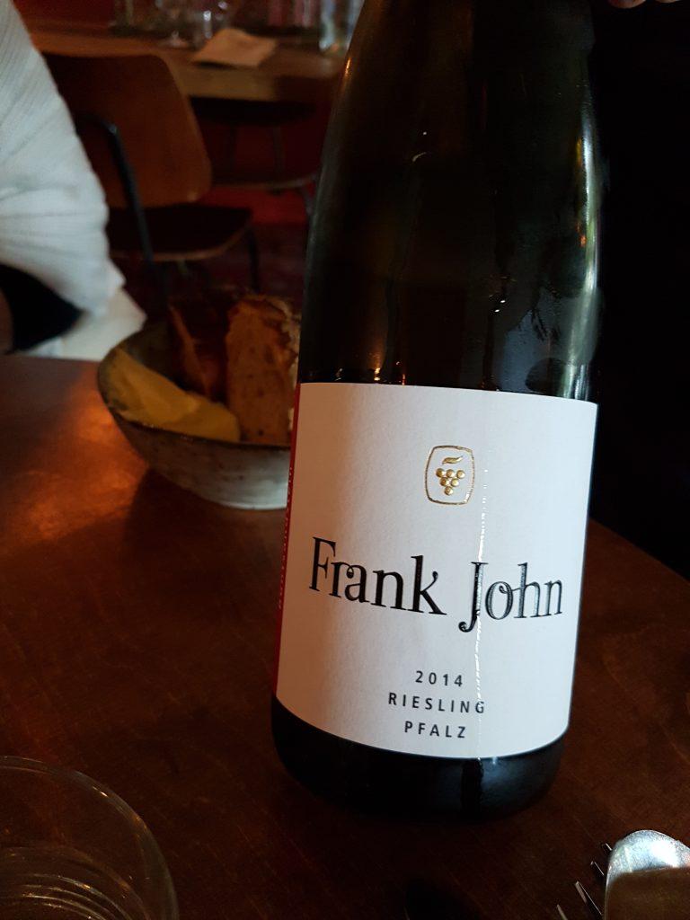 Frank John, Riesling Pfalz 2014
