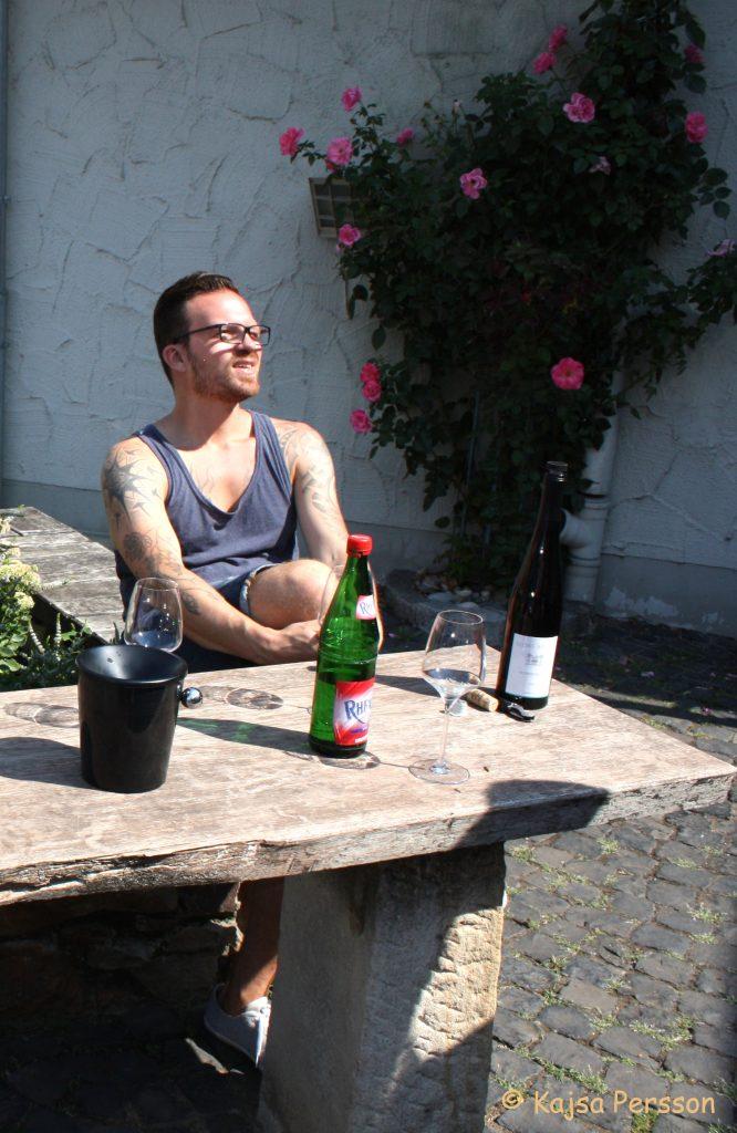 Marcus Lunden hos Georg Beuer