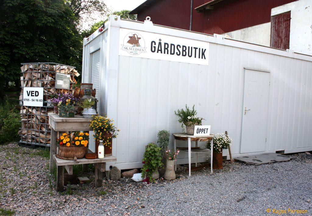 Gårdsbutiken hos Skålldal Lilla Ekomejeri
