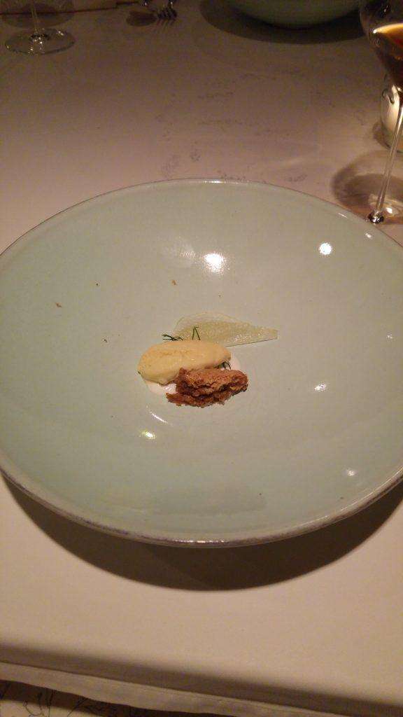 Dessert på Hisa Franko