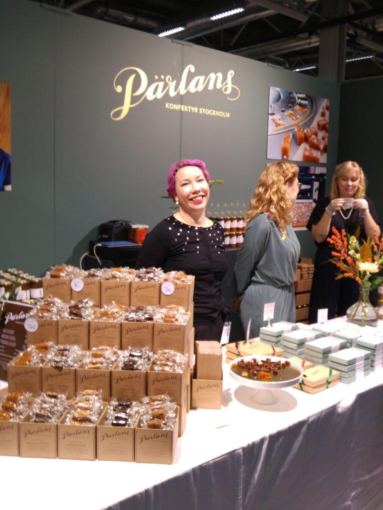 Pärlans konfektyr Stockholm Food & Wine 2017
