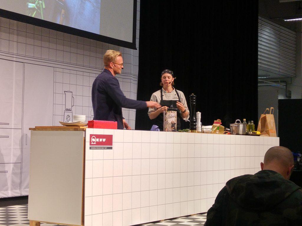 Titti Qvarnström på Stockholm Food & Wine 2017