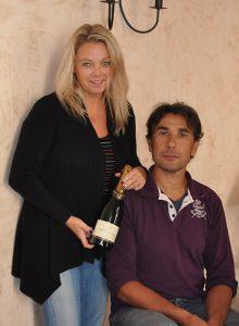 Jessica och Thierry (bilden lånad från Franska vinkompaniet)