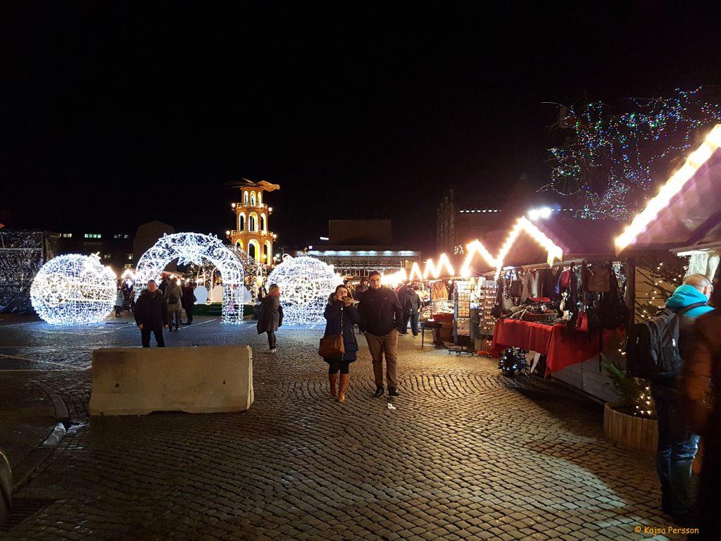 Julmarknaden i Gdansk
