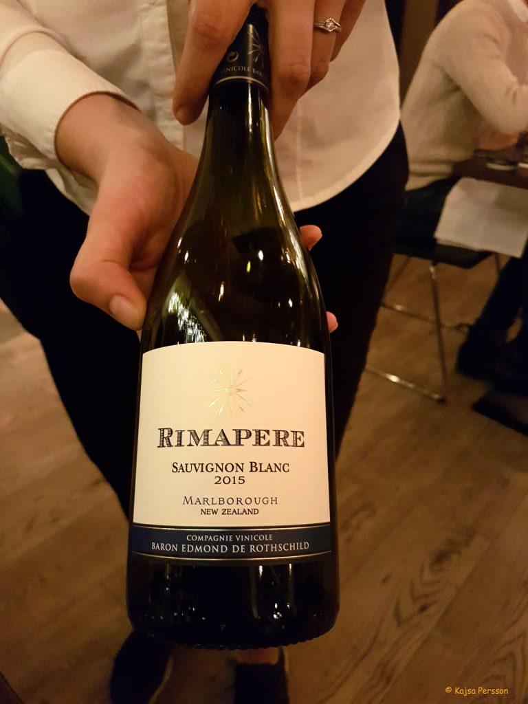Rimapere, Sauvignon Blanc, Baron Edmond de Rothschild, Marlbourough, New Zealand