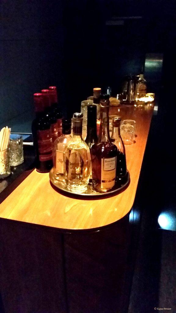 Bio baren i salongen Bar Deco