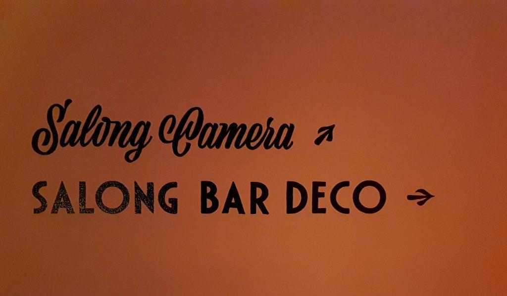 Bio salong Bar Deco på Biograf Speglen, malmö