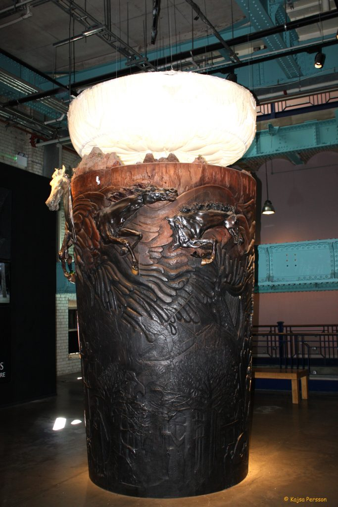 Snidd trä Guinness