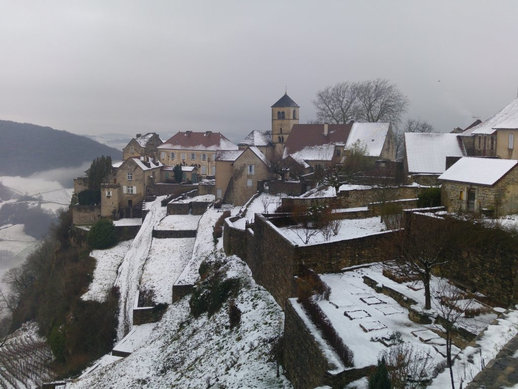 Chateau Chalon, Jura, Frankrike