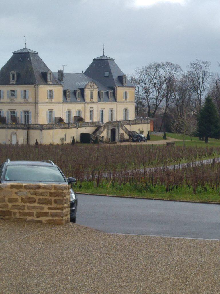 Chateau de citeaux i Mersault, Beaujolais