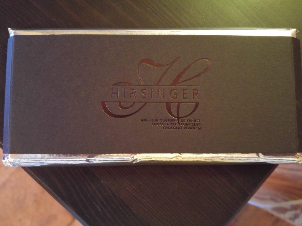 Mörk choklad från Hirsinger i Jura