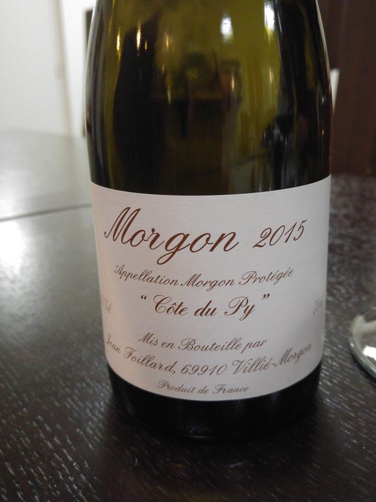 Jean Foillard - Morgon Cote du Py 2015