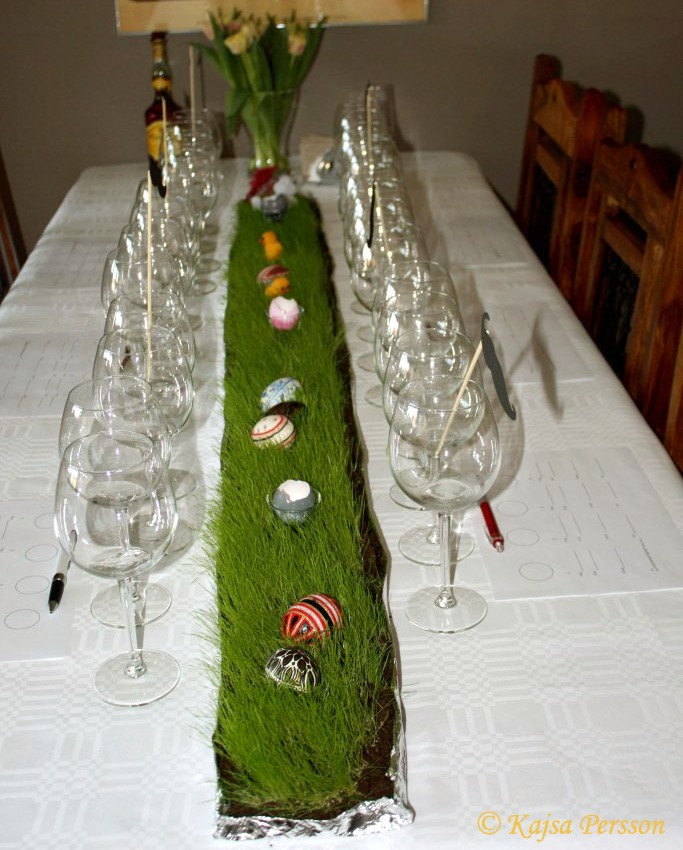 Vinprovning till påsk