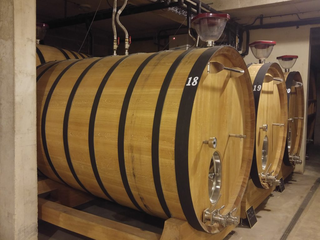 Domaine Collet/Champagne Anthime jobbar både med nya ekliggare....