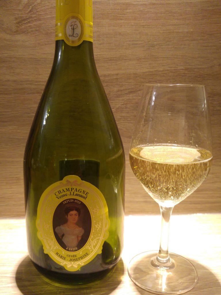 Cuvee Marie-Joséphine Champagneflaska